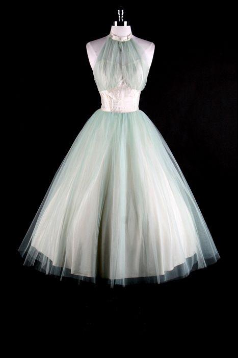 6f44b8143f1b vintage 50s bridal halter