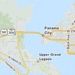 Map Of Panama City Florida.Driving Directions From 113 Oleander Cir Panama City Beach Florida