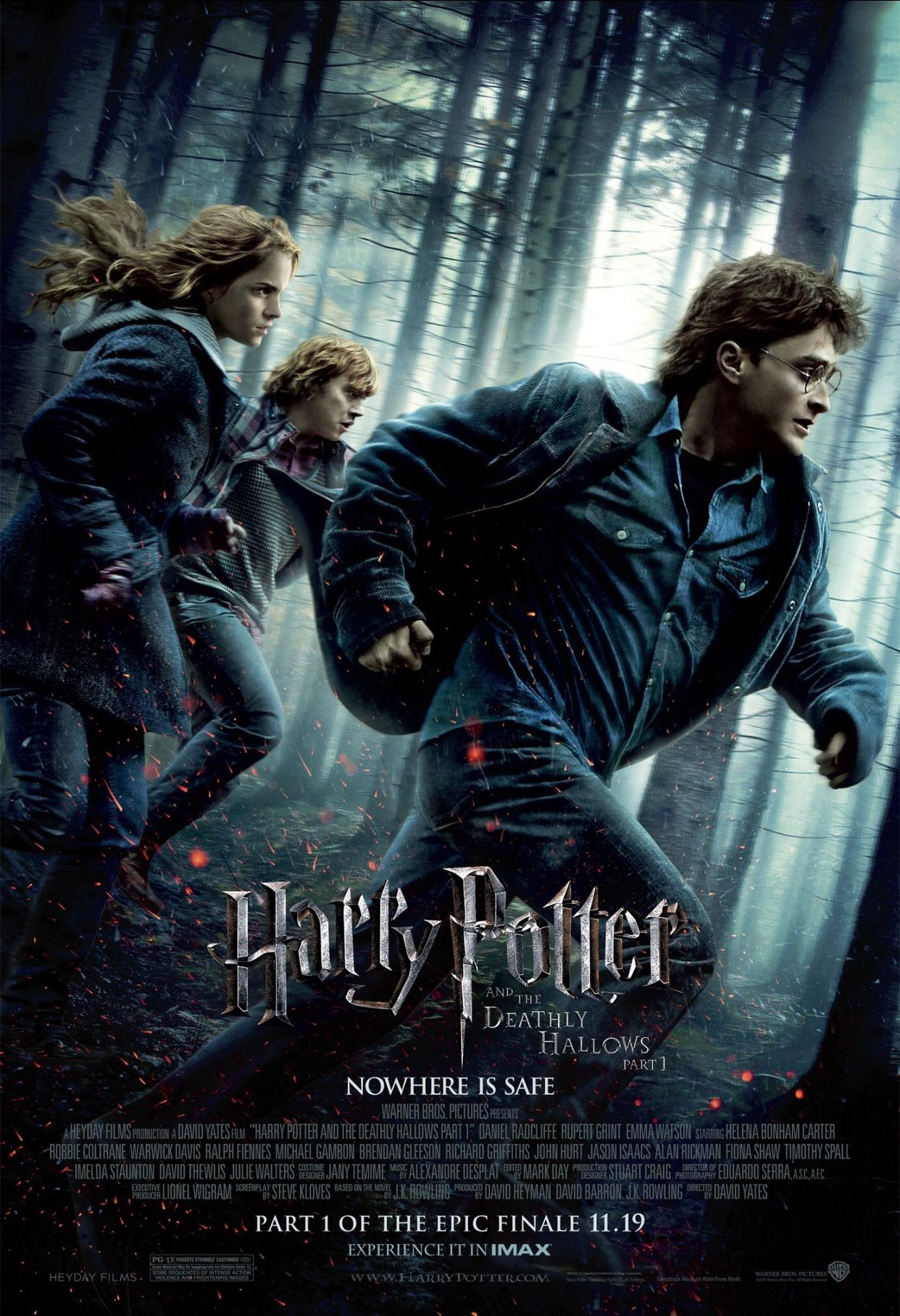 Pin By Rashaanbyrd On Film Posters Harry Potter Movie Posters Harry Potter Movies Deathly Hallows Part 1