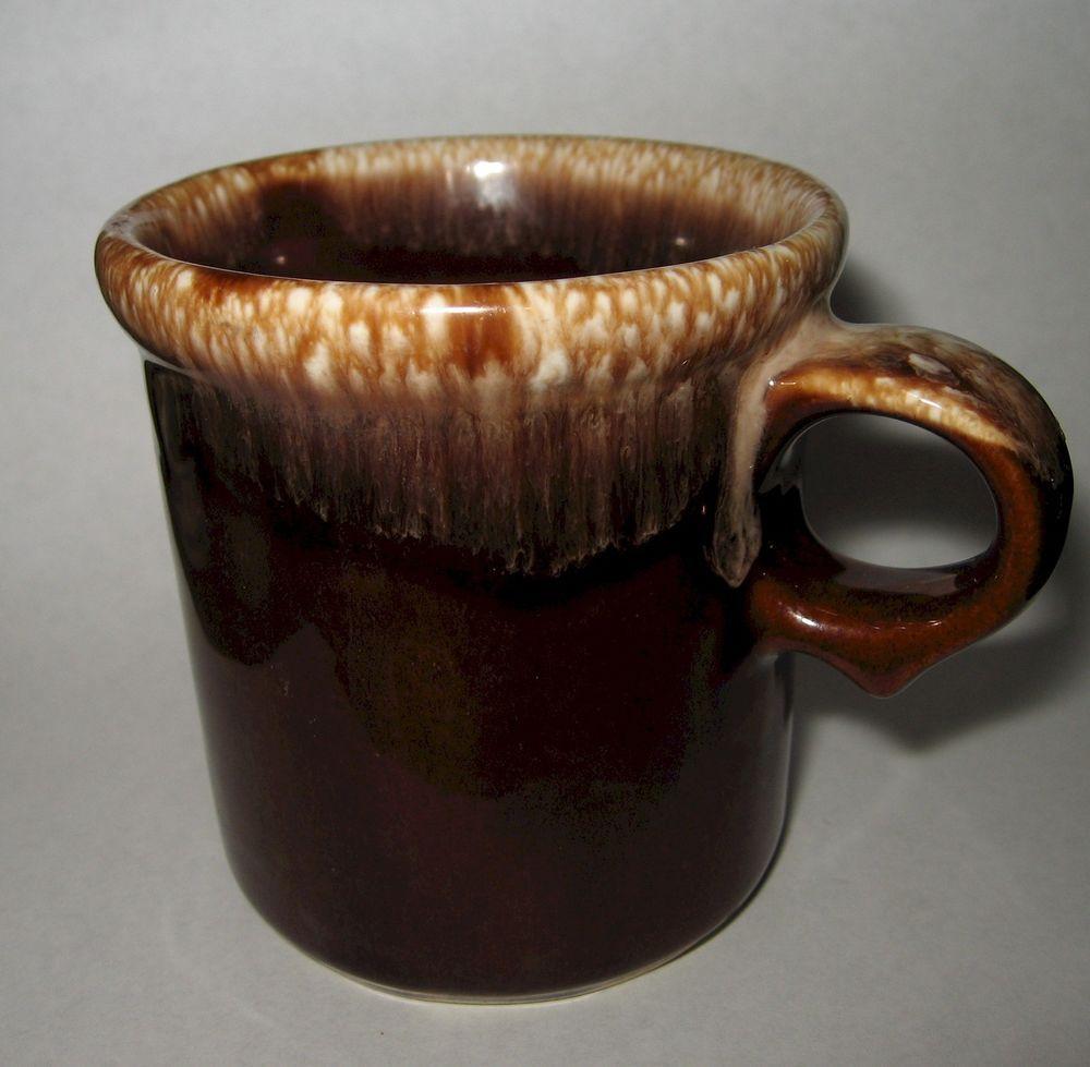 1191c1a7d94 SOLD! Vintage McCoy Pottery Brown Drip Coffee Mug Cup 1412 U.S.A. ...