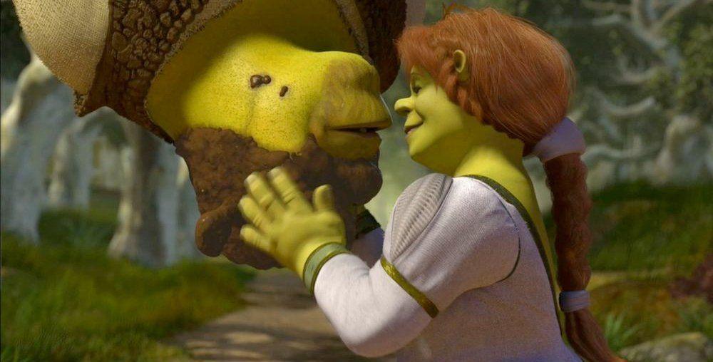 Shrek 2 - Spiderman kiss   Movies & TV Series & Cartoons in