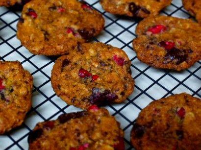 Dark Chocolate Cranberry Lady's Cookies   Tasty Kitchen: A Happy Recipe Community!
