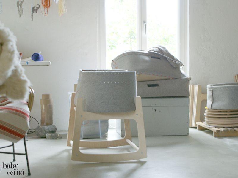 Nestau0027s Nest - Babybett, nachhaltig, ökologisch, aus Filz - made - schlafzimmer einrichten mit babybett