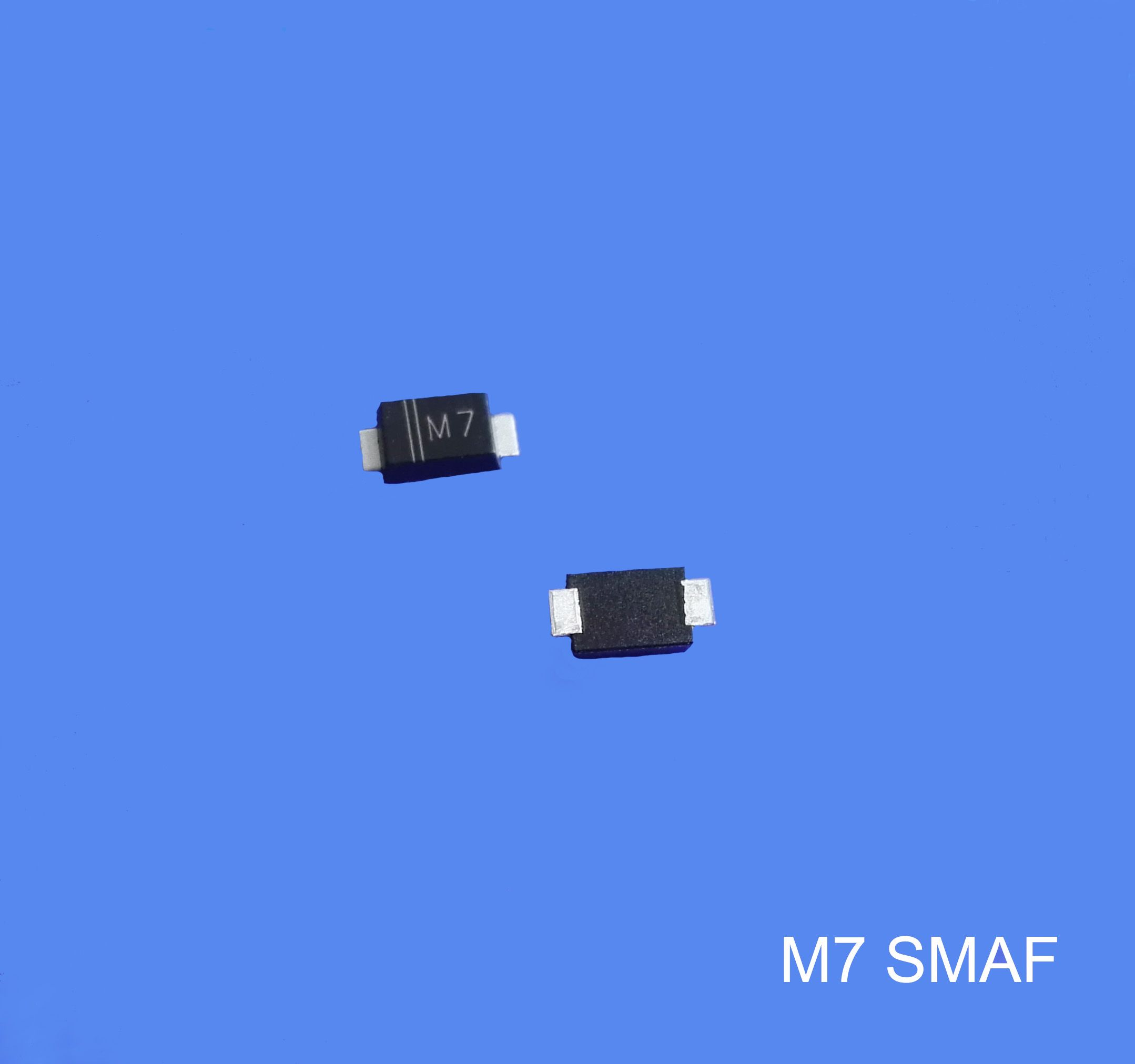 M7f Electronic Components Surface Mount Glass Passivated Rectifier Schottky Diodes Pin Smd Switching Diode M7 1a 1000v Flat Foot Smaf