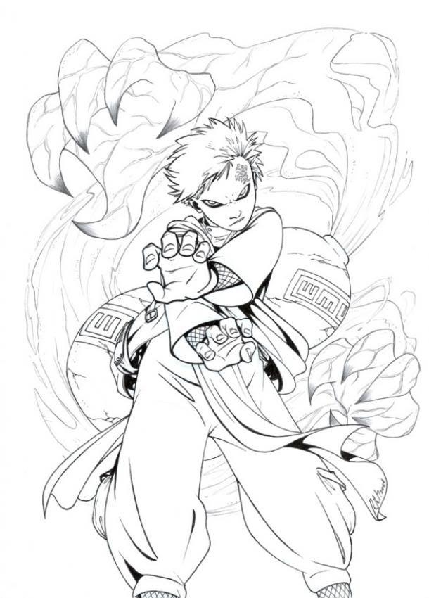 Naruto Coloring Pages Naruto Sketch Naruto Characters