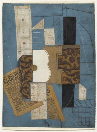 Pablo Picasso, Guitar, 1913, MoMA