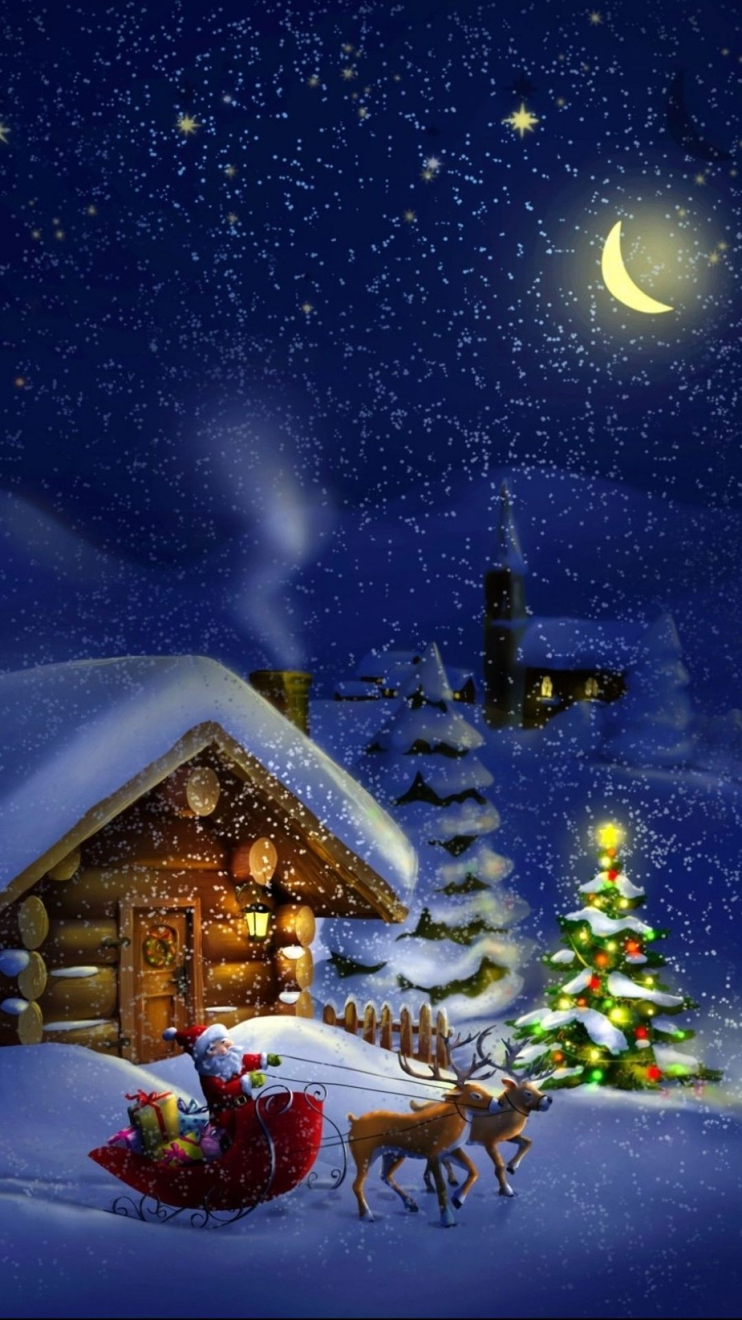 Hd wallpaper christmas