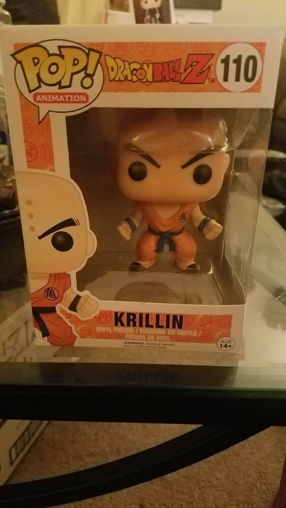 Dragon Ball Z Funko Pop Krillin #110 Vinyl Figure Animation Anime Manga