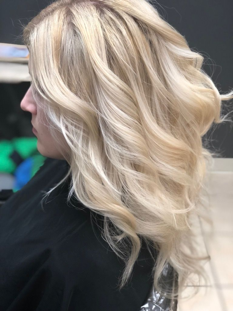 Blonde balayage and tone by martinrodriguez blonde hair color