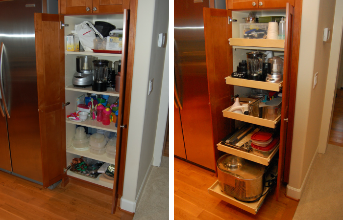 organization nightmares 10 before after remodels with remodel organization tall cabinet on kitchen organization before and after id=78173