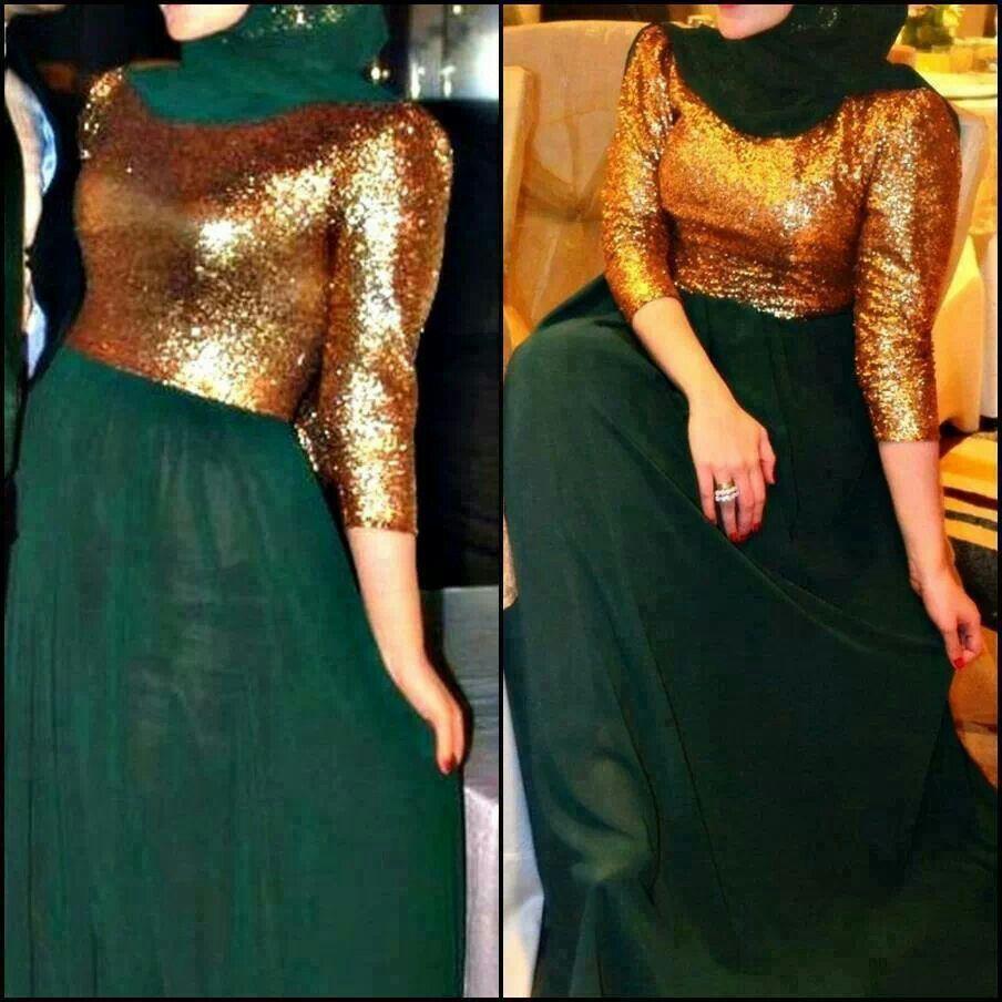 49+ Green and golden dress ideas