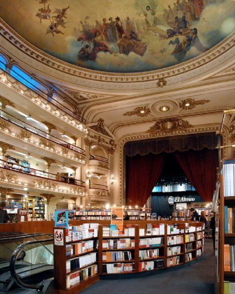 Libreria El Ateneo . Buenos Aires. Una de las librerías màs importantes del mundo
