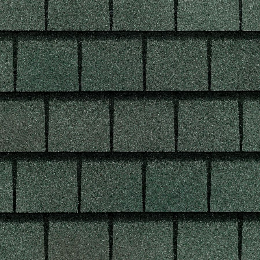 Best Gaf Slateline 33 33 Sq Ft Emerald Green Architectural Roof 400 x 300