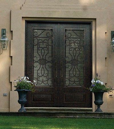 Ornate Design From Complexirondoors Iron Doors Old Doors Doors