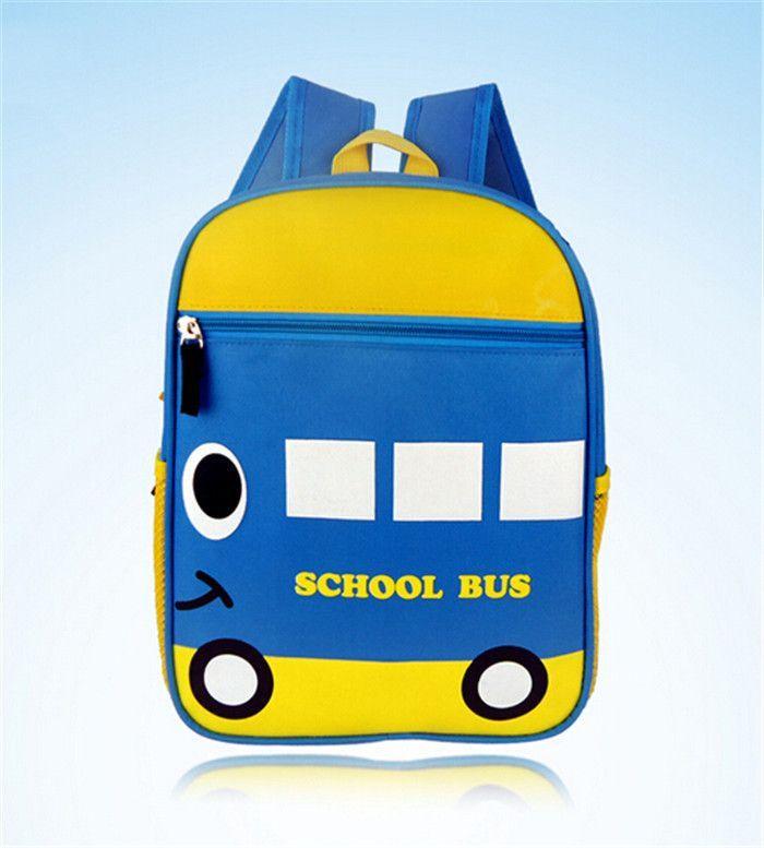 2017 New Cute Kids School Bags Animal Backpack Mini Baby Toddler Book Bag Kindergarten Bus Duck
