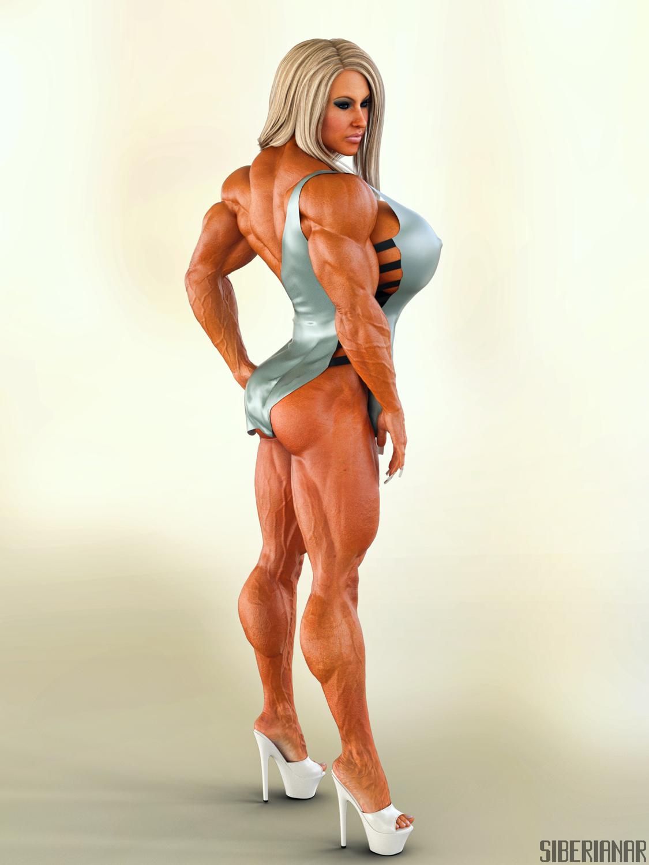 голый накаченный девушки изображения одно