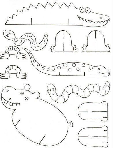 Schauen Sie Mal Wie Einfach Kann Man Tiere Aus Papier Mit Kindern Basteln Die Vorlagen Sie Hie Tiere Basteln Bastelarbeiten Aus Papier Und Pappe Papier Tiere