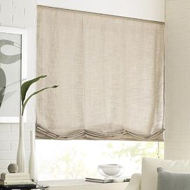 Whole Home 174 Md Lola Linen Look Relaxed Roman Shade