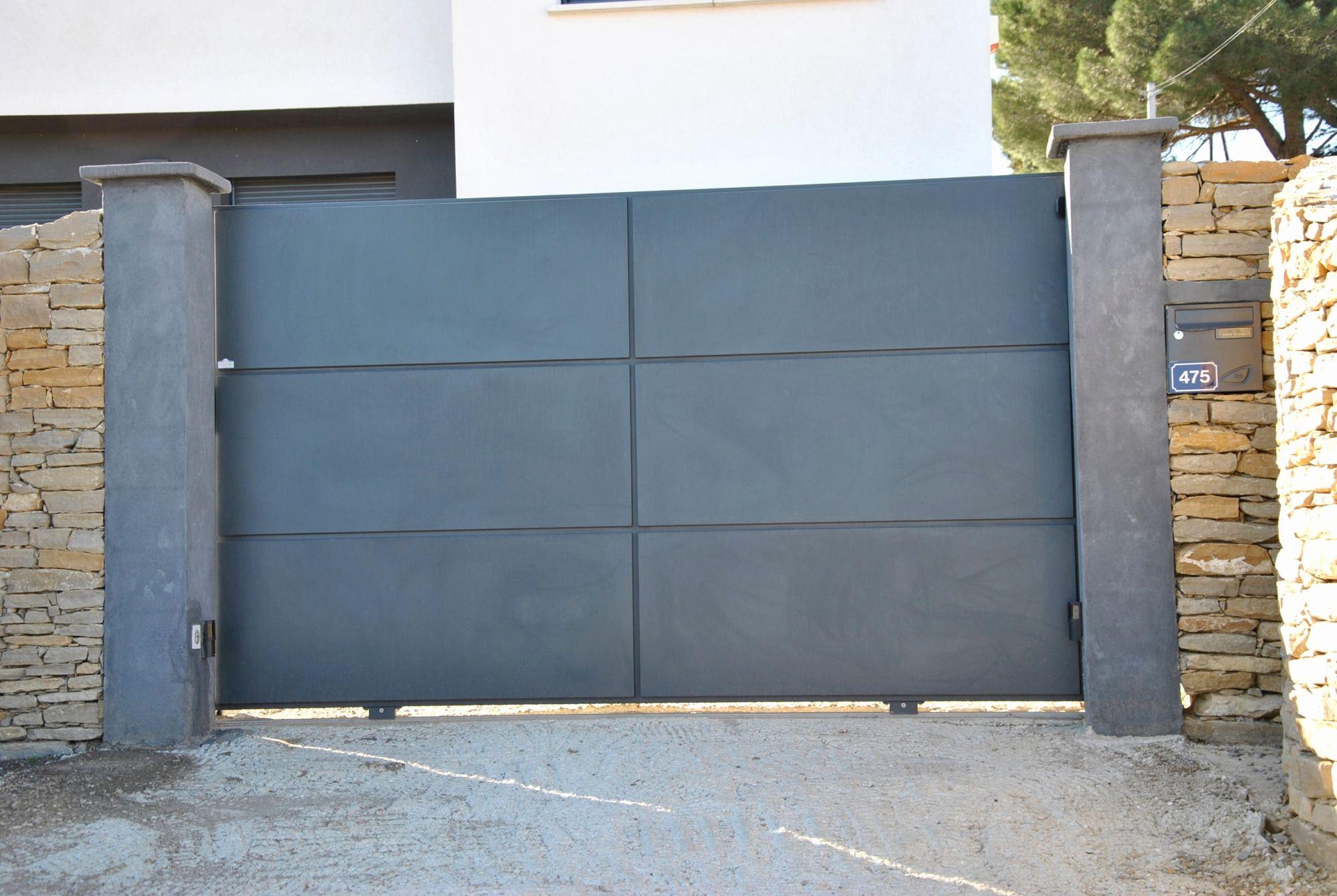 Elegant Portail Coulissant 4m50 Leroy Merlin Interior Design Bedroom Outdoor Decor Bedroom Interior
