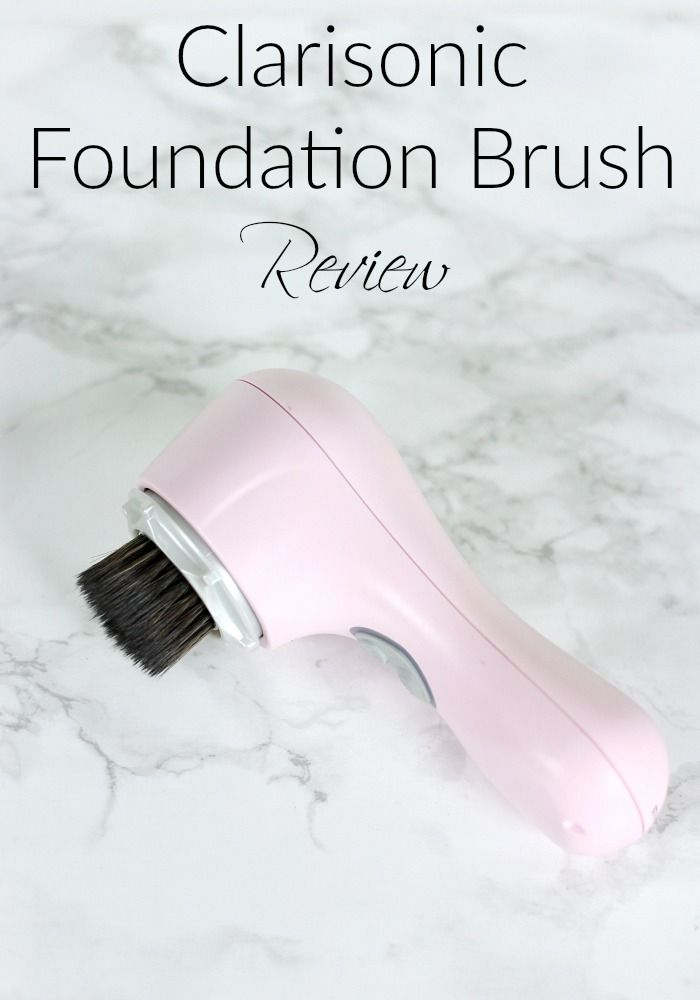 Clarisonic Foundation Brush Review The Makeup Addicts Club
