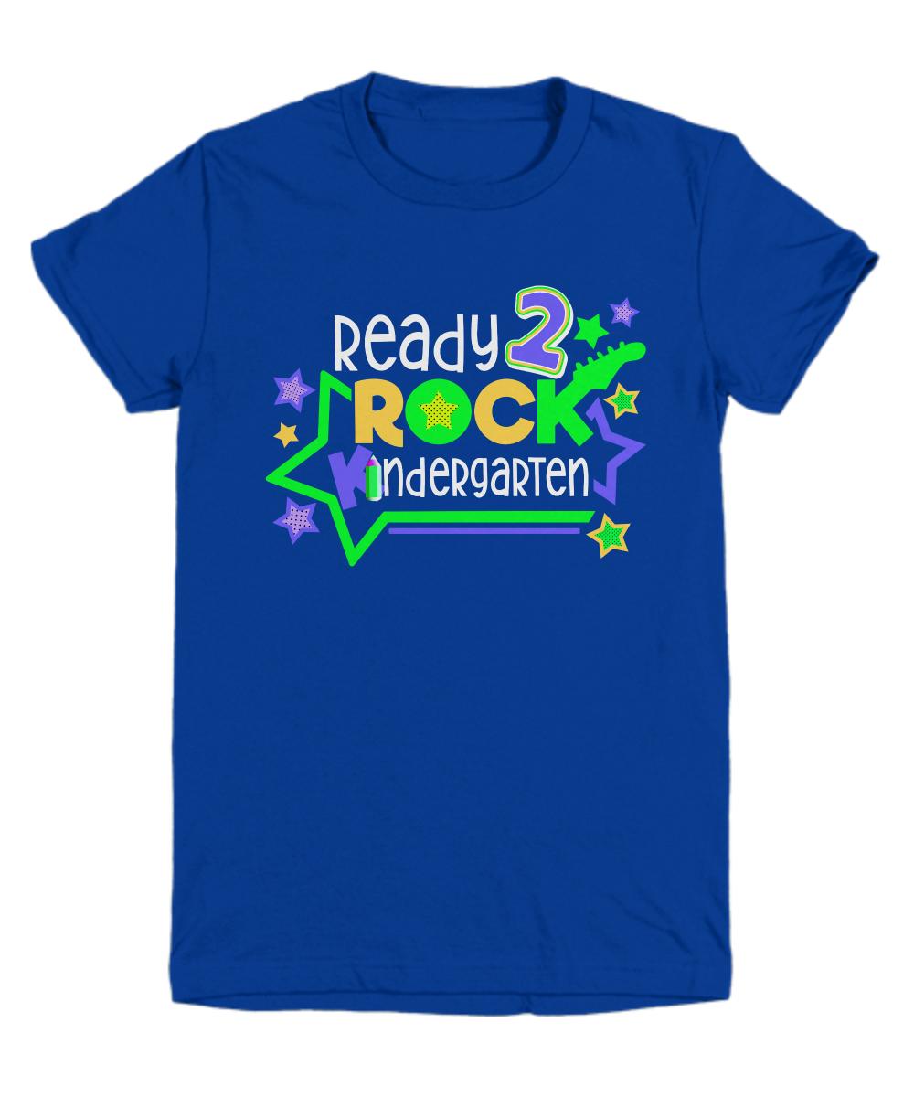 kindergarten t shirt for girls or boys kindergarten gift