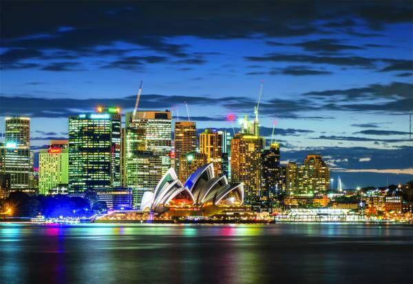 Puzzle Educa De 1000 Piezas Sidney Australia Ref