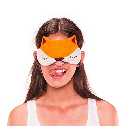 Prezent dla podróżnika - maska do spania