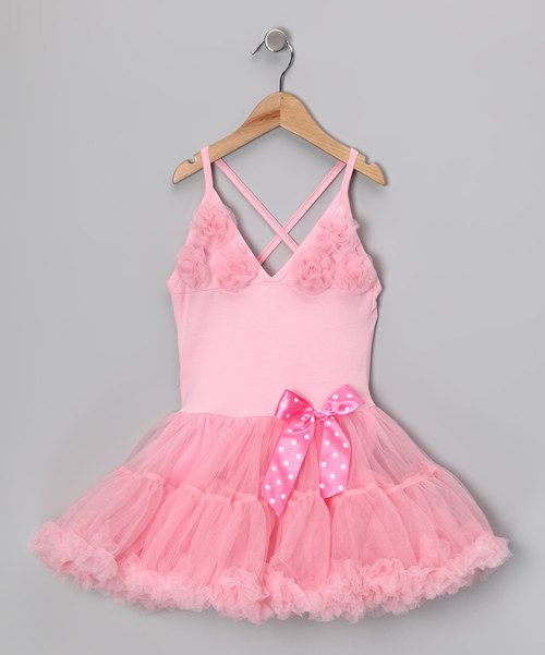 <p+style='margin-bottom:0px;'>Ruffle+dresses+don't+mean+a+thing+if+they+ain't+got+that+swing!+Luckily,+this+one+has+it+in+spades.+Rosettes+and+a+flouncy+tutu+silhouette+are+perfect+for+a+fanciful+prancer.+The+bendable,+stretchable+feel+will+keep+up+with+a+full+day+of+skips+and+twirls.<p+style='margin-bottom:0px;'><li+style='margin-bottom:0px;'>100%+cotton<li+style='margin-bottom:0px;'>Skirt:+100%+polyester<li+style='margin-bottom:0px;'>Hand+wash<li+style='margin-bottom:0px;'>Imported<br+/>