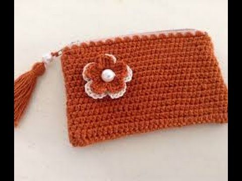 Monederos tejidos a crochet - YouTube abril Pinterest