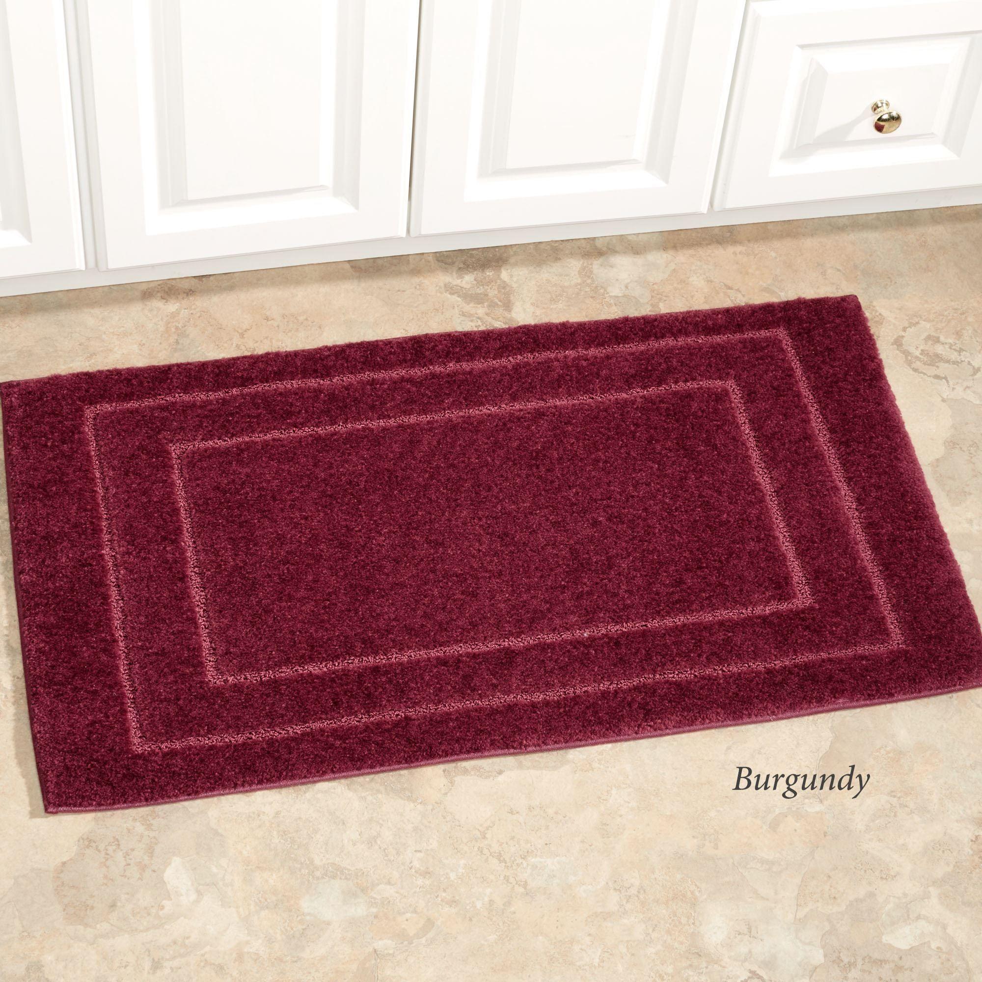 Bath Mat Sets Home Bargains Bathroom Decor Pinterest Bath - Burgundy bath mat for bathroom decorating ideas