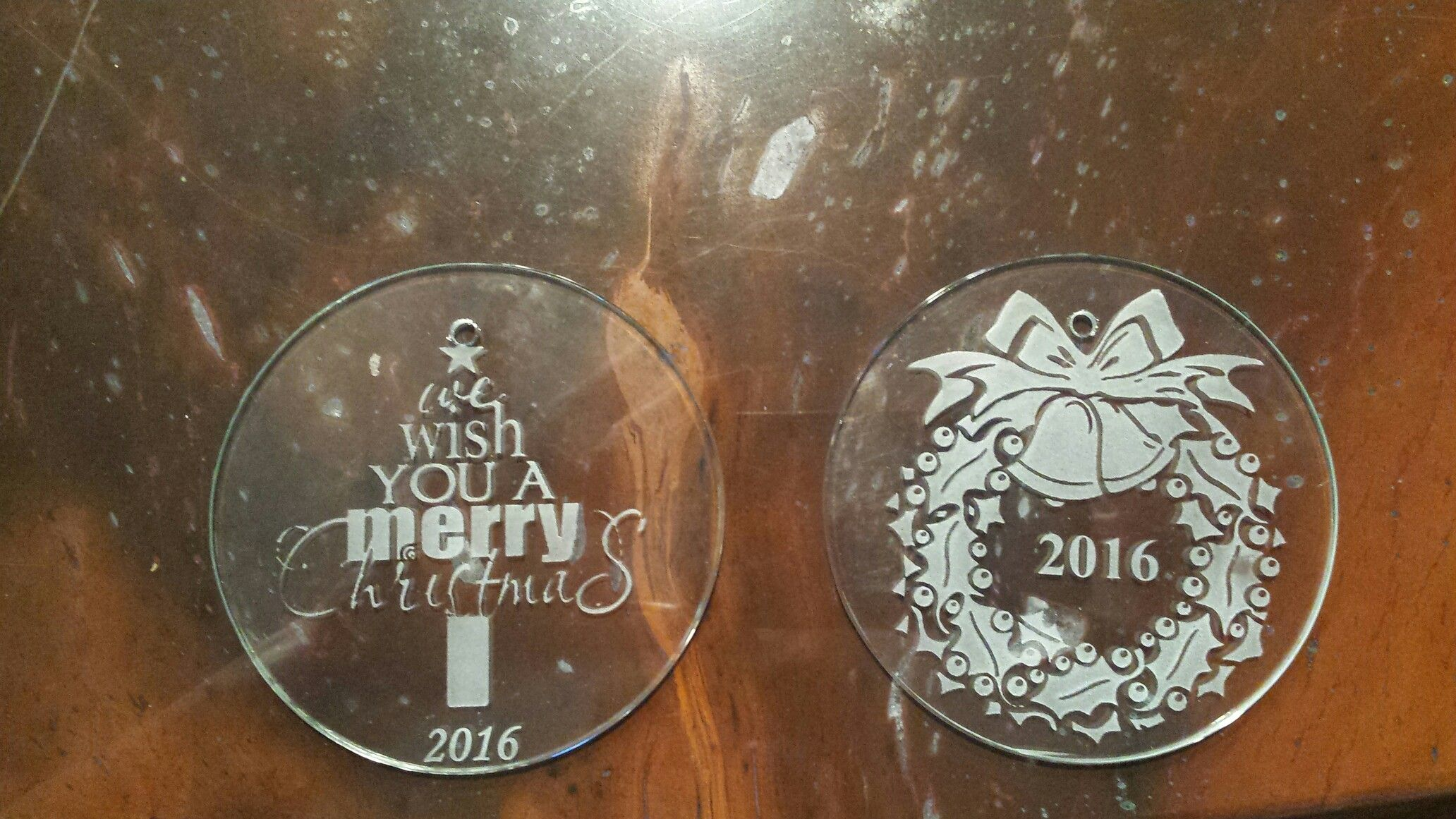 2916 Ornaments Glass Etching