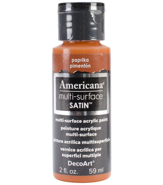 Decoart americana multi surface satin acrylic paint 2oz