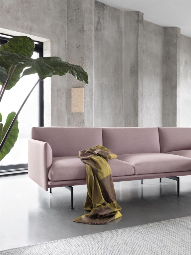 Pastel Interior, Elegant Sofa, Interior Design