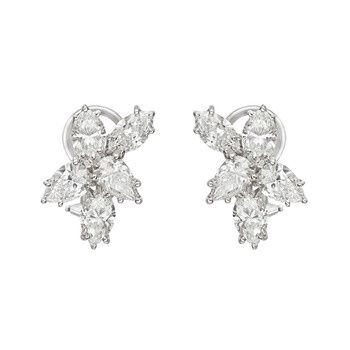 Pear Shaped Diamond Earrings Estate See More Stunning Jewelry At Stellarpieces