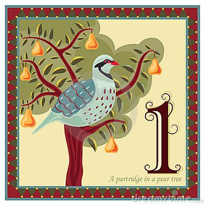 partridge in a pear tree jesus christmas from advent to rh pinterest com 12 days of christmas clipart free Christmas Twelve Days of Flannel