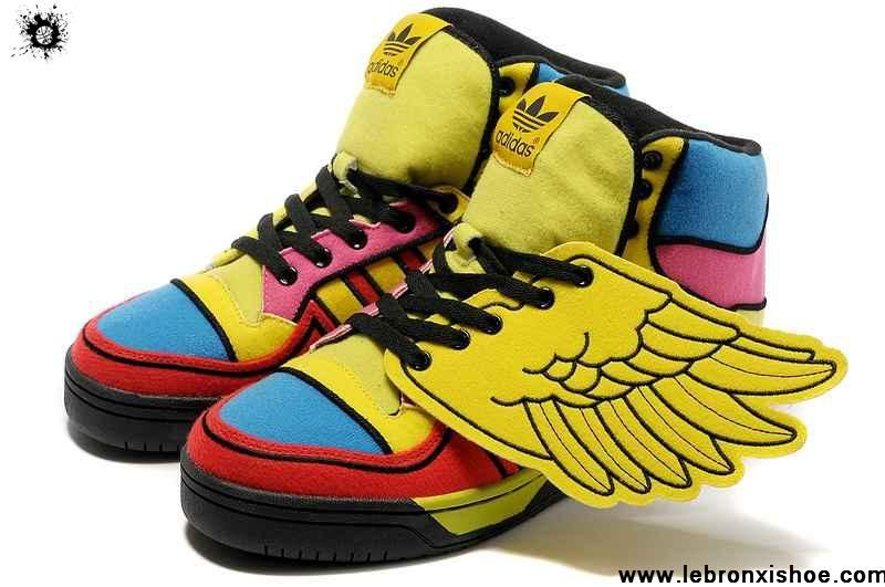 Latest Listing Adidas X Jeremy Scott Wings Color Shoes Shoes Store