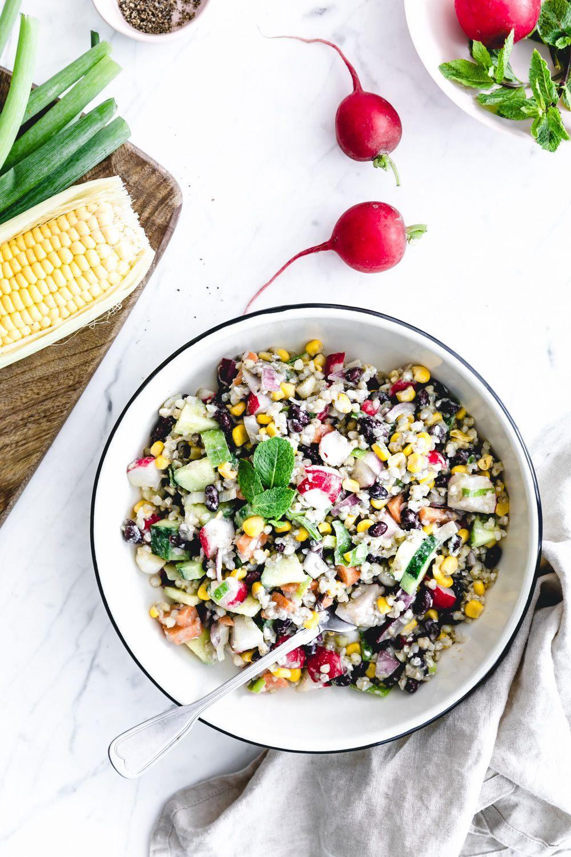 Summer Buckwheat Salad With Lovage Dressing The Green Creator Recipe Buckwheat Salad Radish Recipes Salad Summer Salad Recipes [ 1500 x 1000 Pixel ]