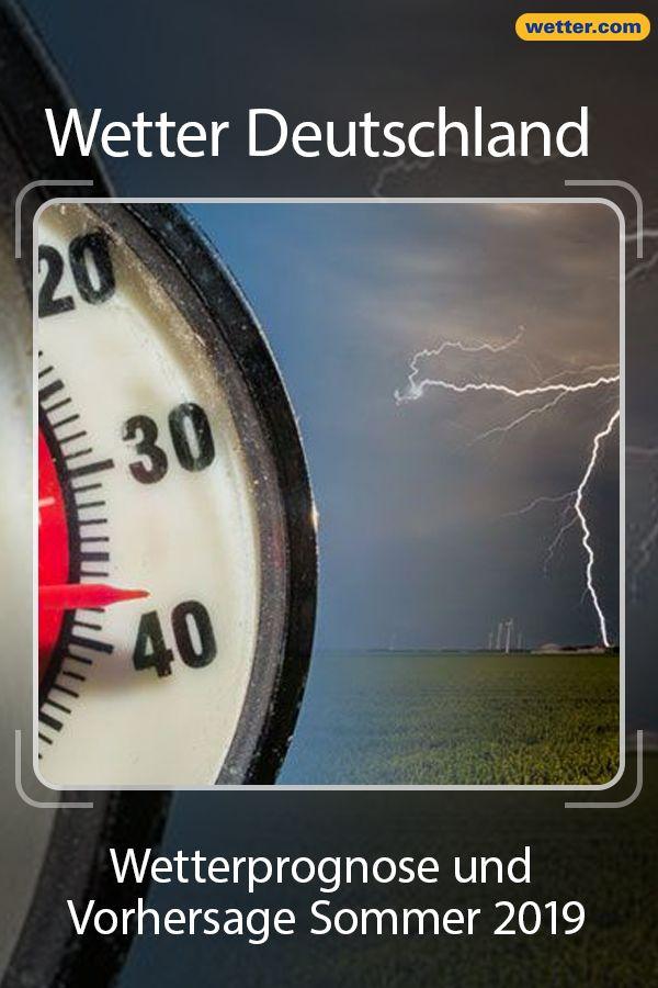 Wetterprognose So Verlauft Der Sommer 2019 Weiter Wetter