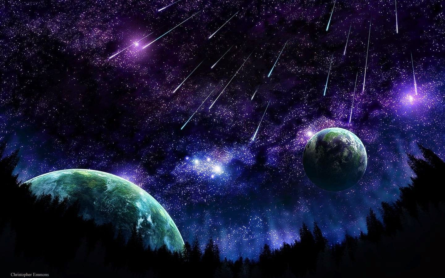 Trippy Space Wallpapers Wallpaper Cave Outer Space Wallpaper