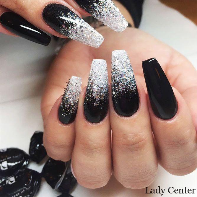 92 2020 Winter Nail Art And Makeup Inspirations Black Nail Designs Matte Nails Design Trendy Nails