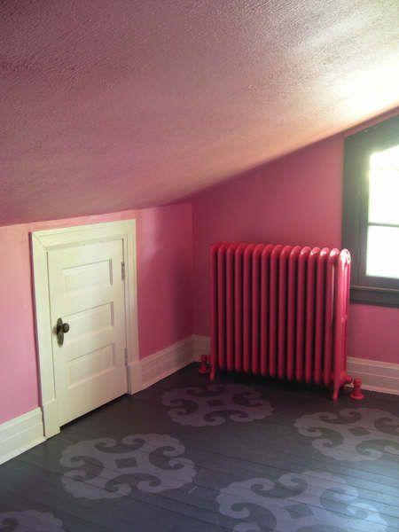 Medley S Very Cool Room Painted Floors Flooring Painted Floor