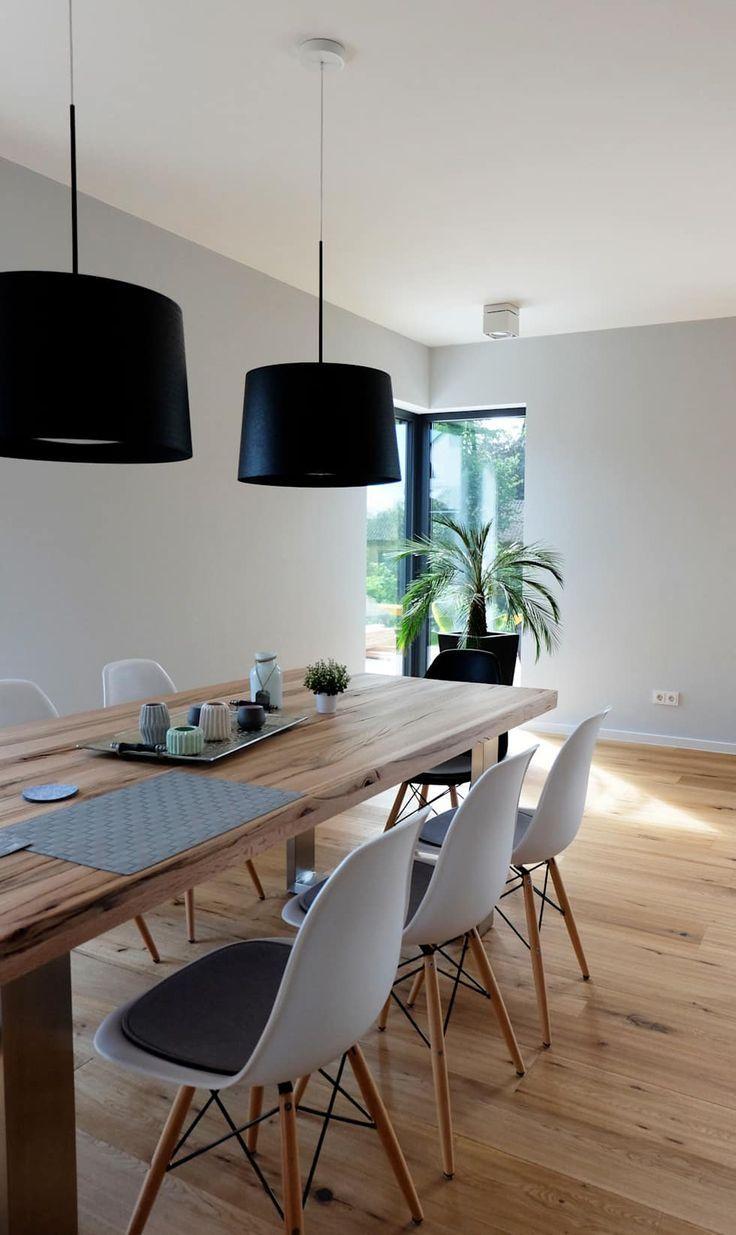 Offener essbereich moderne esszimmer von resonator coop architektur + design modern | homify #esszimmerlampe