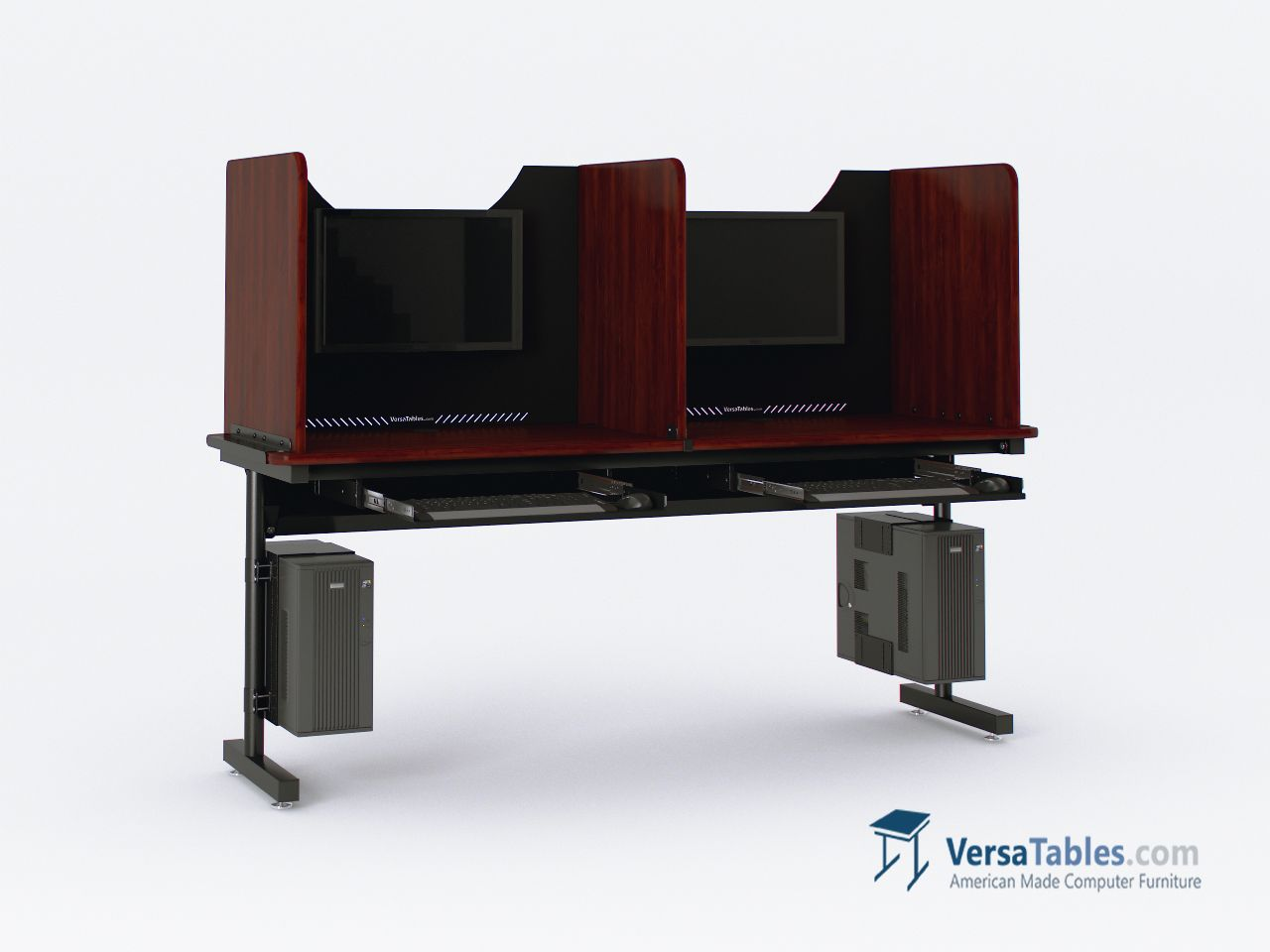 Study Carrel Privacy Divider Table Bct Sc Series By Versa