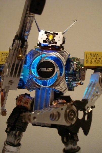 Artesanias Roboticas Robot Project Ideas And Miniatures
