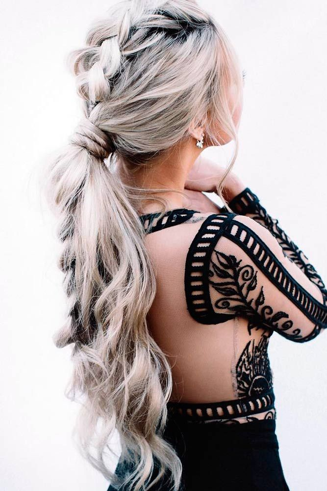 hair styles for in 30s 30 ponytail hairstyles for you to try prom hair 4971