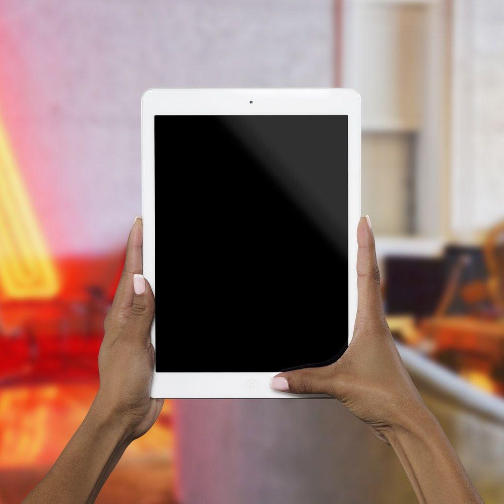 person holding white iPad Ipad picture, Ipad image