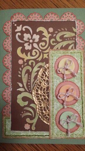 Handmade card;