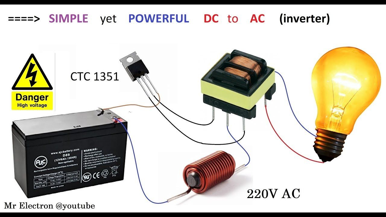 Dc To Ac Converter Circuit Board