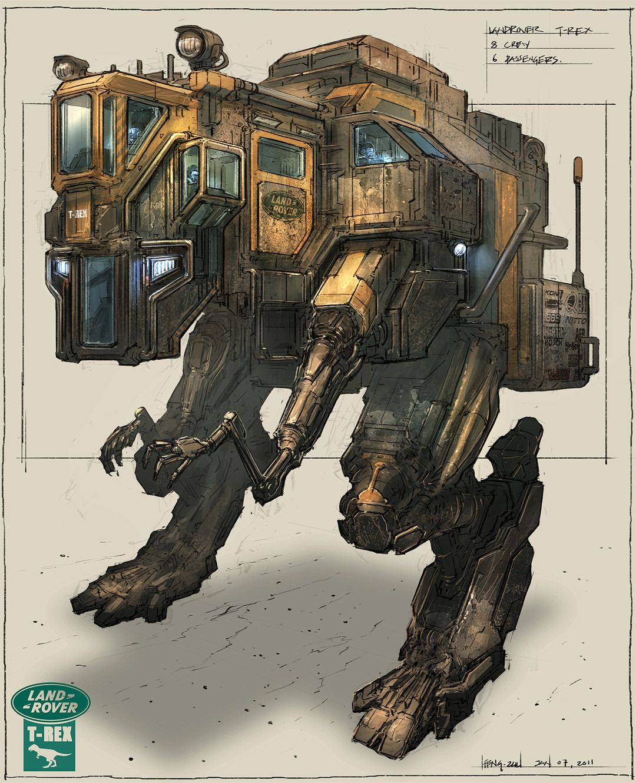 Concept Robots A Fantasy Robot Concept Art Blog
