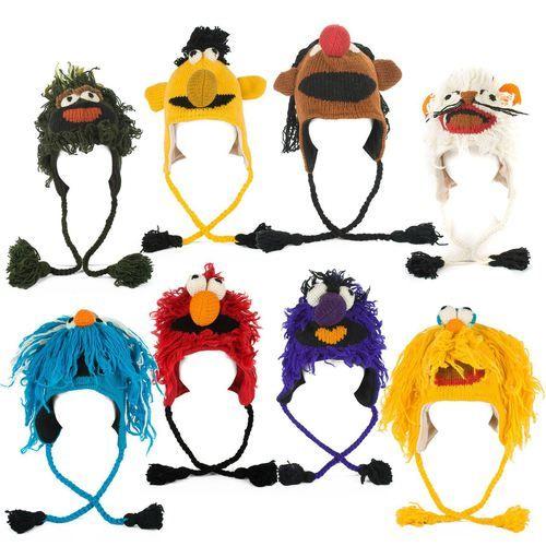 Muppet Show Handmade Hats, 100% Wool, £ 6.95